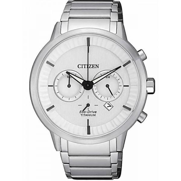 Buy Citizen Men's Watch Super Titanium Chrono Eco-Drive CA4400-88A