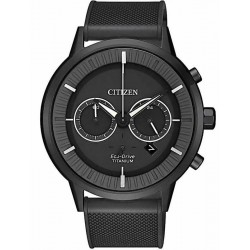 Citizen Men's Watch Super Titanium Chrono Eco-Drive CA4405-17H