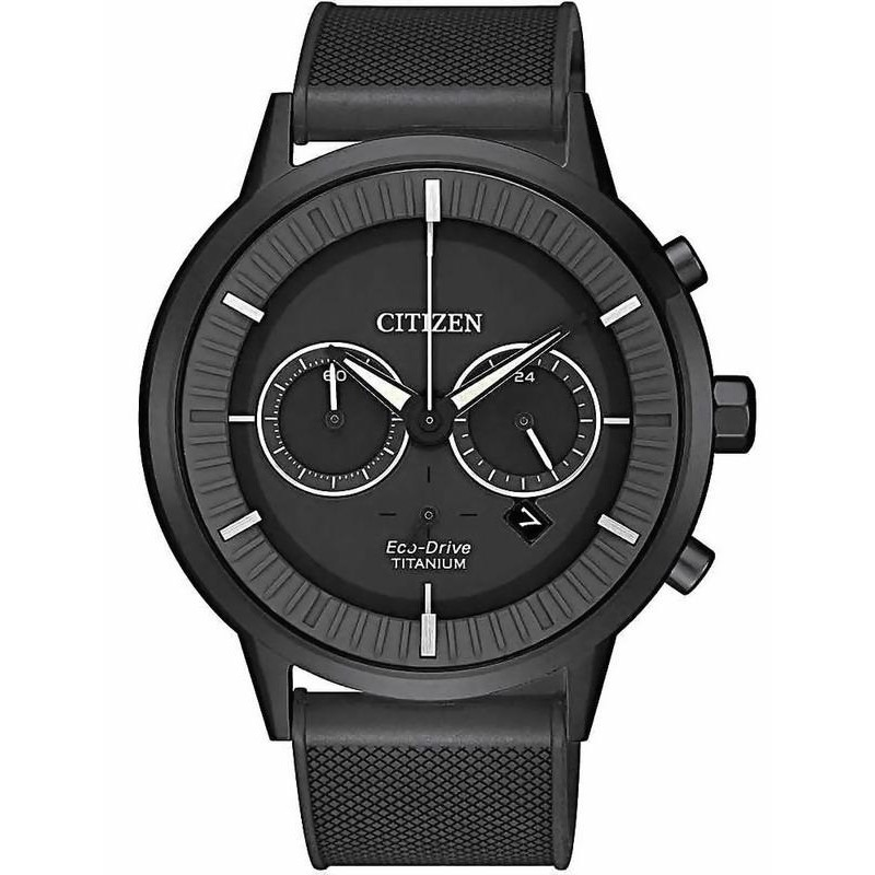 1e109a364 Citizen Men's Watch Super Titanium Chrono Eco-Drive CA4405-17H