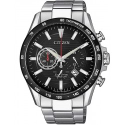 Citizen Men's Watch Super Titanium Chrono Eco-Drive CA4444-82E