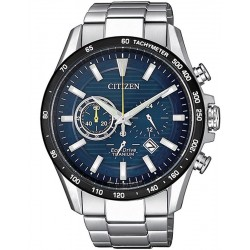 Citizen Men's Watch Super Titanium Chrono Eco-Drive CA4444-82L