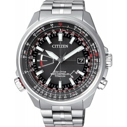 Citizen Men's Watch Pilot Radio Controlled Titanium Evolution 5 CB0140-58E