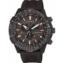Citizen Men's Watch Radio Controlled Chrono Pilot CB5005-13X