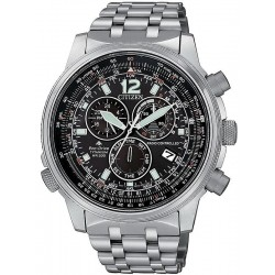 Citizen Men's Watch Radio Controlled Chrono Pilot Super Titanium CB5850-80E
