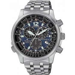 Citizen Men's Watch Radio Controlled Chrono Pilot Super Titanium CB5850-80L