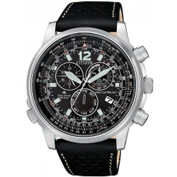 Citizen Men's Watch Radio Controlled Chrono Pilot CB5860-19E