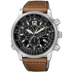 Citizen Men's Watch Radio Controlled Chrono Pilot CB5860-27E