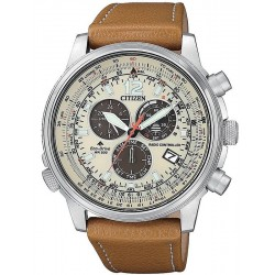 Citizen Men's Watch Radio Controlled Chrono Pilot CB5860-35X