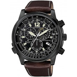 Citizen Men's Watch Radio Controlled Chrono Pilot CB5865-15E