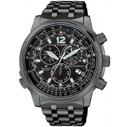 Citizen Men's Watch Radio Controlled Chrono Pilot CB5867-87H