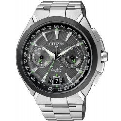 Citizen Men's Watch Satellite Wave Titanium Eco-Drive CC1084-55E