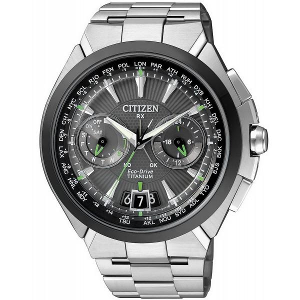 Buy Citizen Men's Watch Satellite Wave Titanium Eco-Drive CC1084-55E