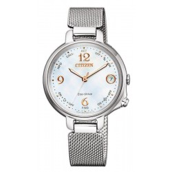 Women's Citizen Watch Radio Controlled Bluetooth Lady Eco-Drive EE4030-85D