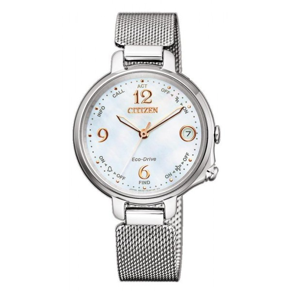 Buy Women's Citizen Watch Radio Controlled Bluetooth Lady Eco-Drive EE4030-85D