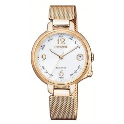 Women's Citizen Watch Radio Controlled Bluetooth Lady Eco-Drive EE4033-87A