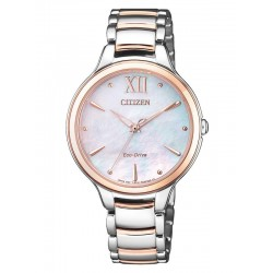 Citizen Women's Watch Eco-Drive EM0556-87D Mother of Pearl