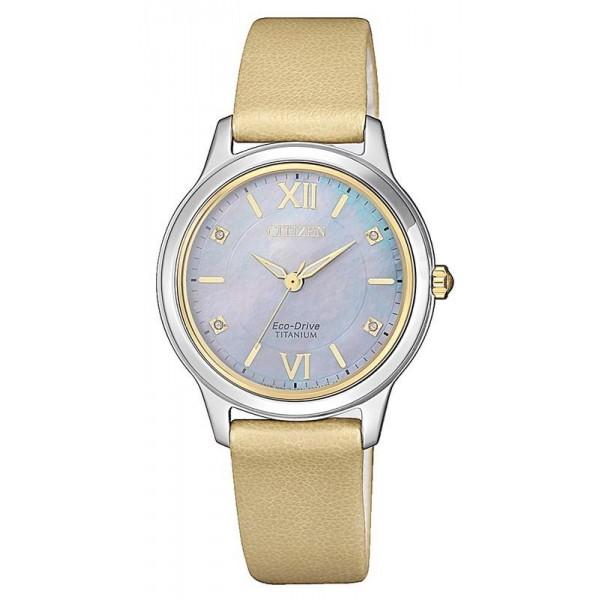 Buy Citizen Women's Watch Lady Super Titanium EM0724-17Y