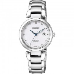 Citizen Women's Watch Super Titanium Eco-Drive EW2500-88A