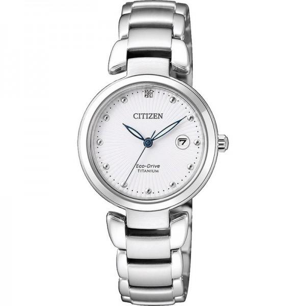 Buy Citizen Women's Watch Super Titanium Eco-Drive EW2500-88A