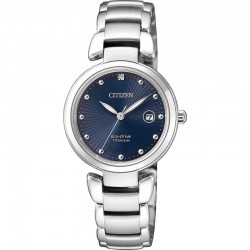 Citizen Women's Watch Super Titanium Eco-Drive EW2500-88L