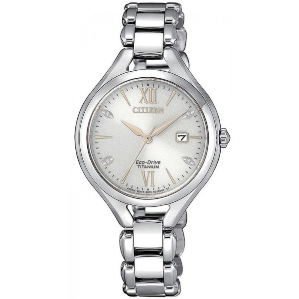 Buy Citizen Women's Watch Lady Super Titanium EW2560-86A