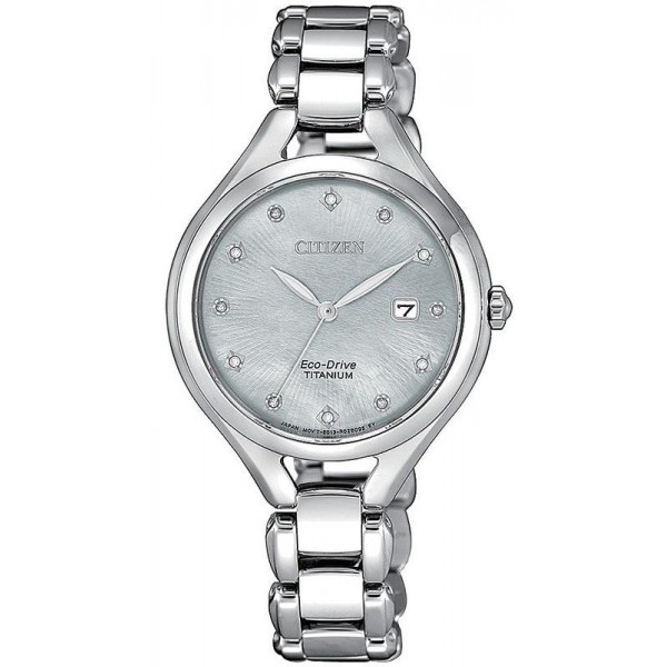 Buy Citizen Women's Watch Lady Super Titanium EW2560-86D