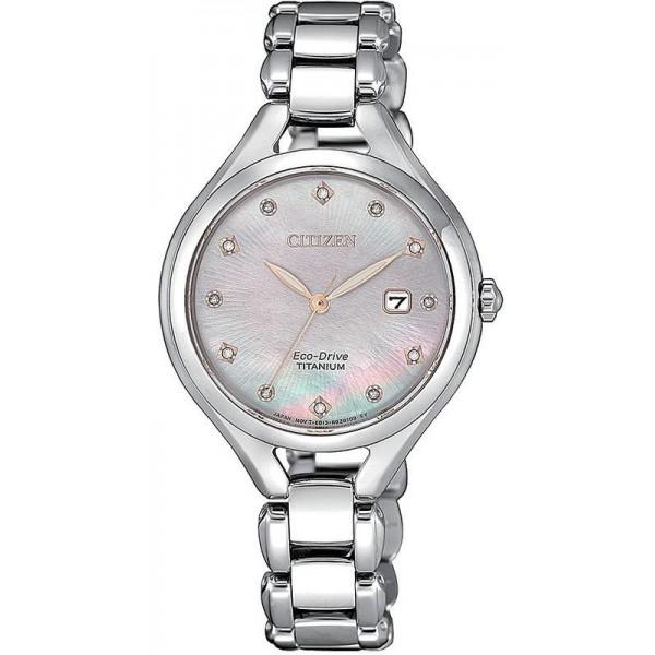 Buy Citizen Women's Watch Lady Super Titanium EW2560-86Y