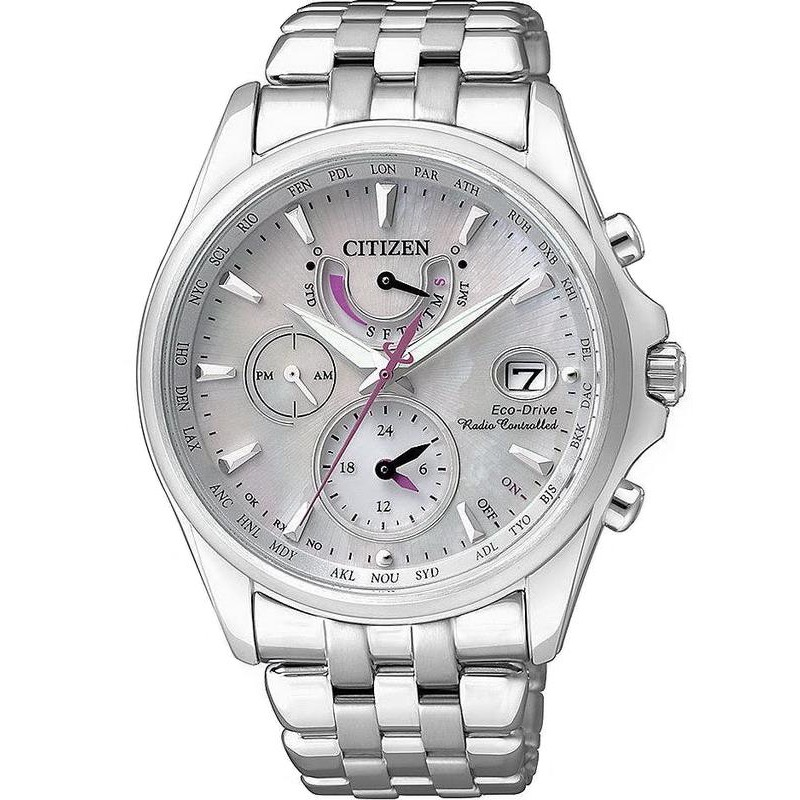 Citizen Women s Watch Radio Controlled Eco-Drive FC0010-55D 7684d2b11a