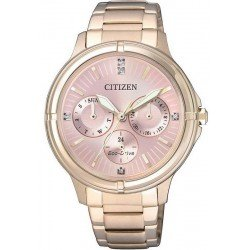 Citizen Women's Watch Eco-Drive FD2033-52W Multifunction