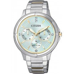 Citizen Women's Watch Eco-Drive FD2034-50W Multifunction