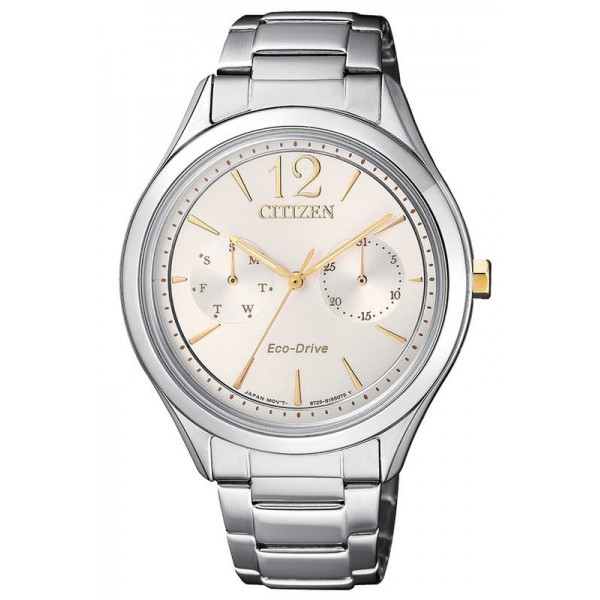 Buy Citizen Women's Watch Lady Eco-Drive FD4024-87A Multifunction