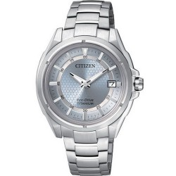 Citizen Women's Watch Super Titanium Eco-Drive FE6040-59M