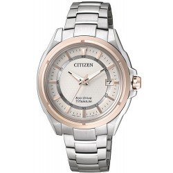 Citizen Women's Watch Super Titanium Eco-Drive FE6044-58A