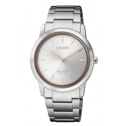 Citizen Women's Watch Super Titanium Eco-Drive FE7024-84A