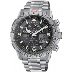 Citizen Men's Watch Radio Controlled Skyhawk Super Titanium JY8100-80E