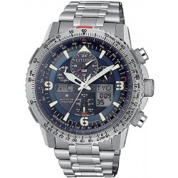 Citizen Men's Watch Radio Controlled Skyhawk Super Titanium JY8100-80L