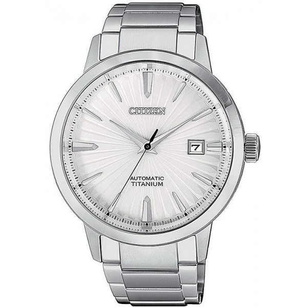 Buy Citizen Men's Watch Super Titanium Mechanical NJ2180-89A