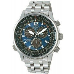 Citizen Men's Watch Promaster Chrono Radio Controlled Titanium AS4050-51L