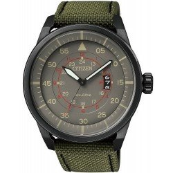 Buy Citizen Men's Watch Aviator Eco-Drive AW1365-01H