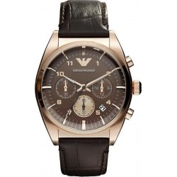 Emporio Armani Men's Watch Franco AR0371 Chronograph