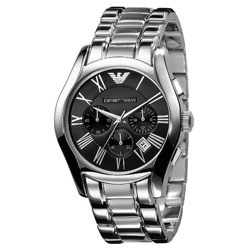 low priced 4ab15 cd9b3 Emporio Armani Men 's Watch Valente AR0673 Chronograph