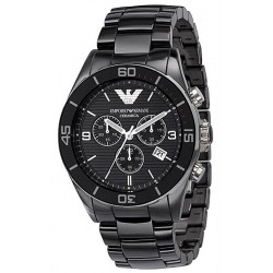 Emporio Armani Men's Watch Ceramica AR1421 Chronograph