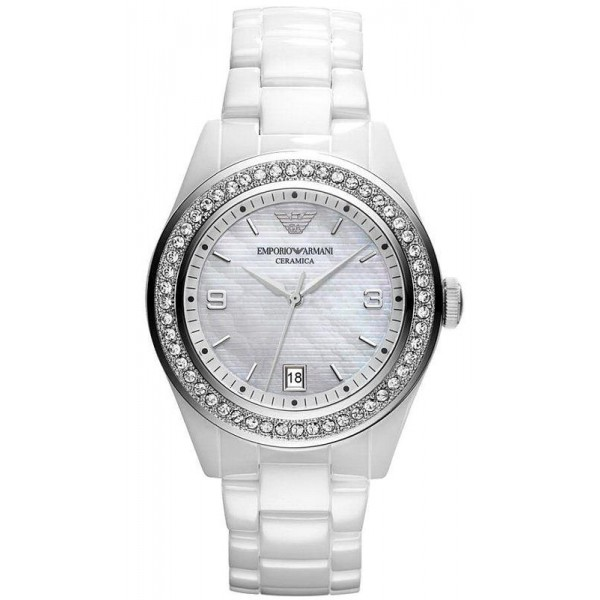 Buy Emporio Armani Women's Watch Ceramica AR1426