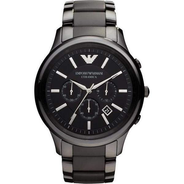 Buy Emporio Armani Men's Watch Ceramica AR1451 Chronograph