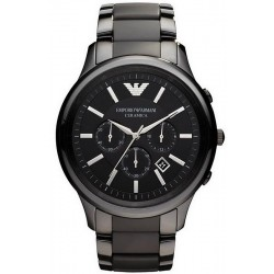 Emporio Armani Men's Watch Ceramica AR1452 Chronograph