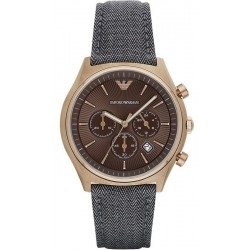 Emporio Armani Men's Watch Zeta AR1976 Chronograph