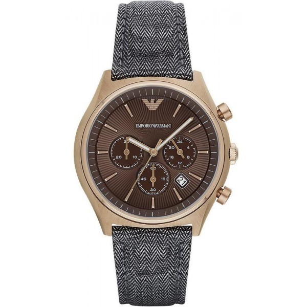 Buy Emporio Armani Men's Watch Zeta AR1976 Chronograph