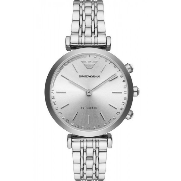 Buy Emporio Armani Connected Women's Watch Gianni T-Bar ART3018 Hybrid Smartwatch