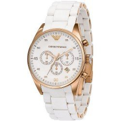 Emporio Armani Women's Watch Tazio AR5920 Chronograph
