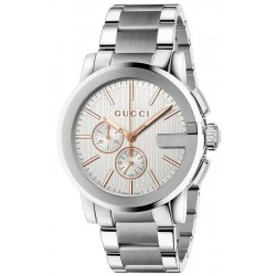 Buy Gucci Men's Watch G-Chrono XL YA101201 Quartz Chronograph